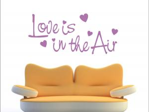 Love is in the Air 1184 - Wandtattoo