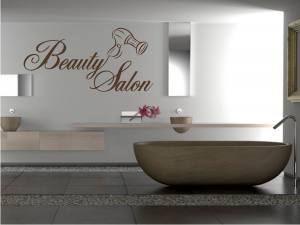 Beauty Salon - Wandtattoo