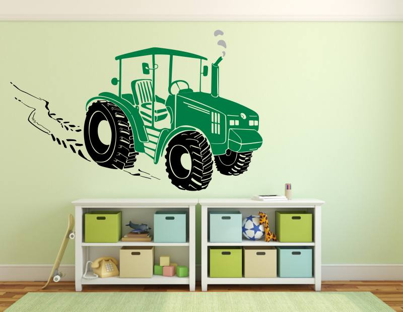 Traktor Wandtattoo